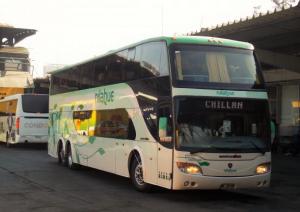Ônibus Nilahue até o Vale Las Trancas