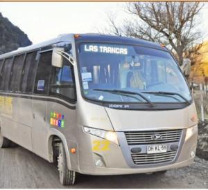 ônibus para o Vale Las Trancas