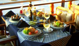 Almoço em Valparaíso