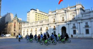 Alugue bicicleta em Santiago