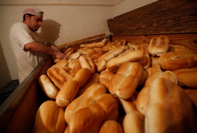 Os chilenos amam pão!