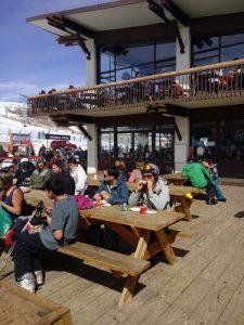 Cefeteria em Valle Nevado