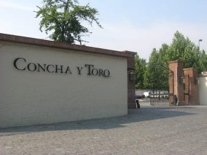 Entrada da Vinícola Conha y Toro