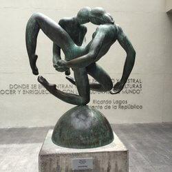 Escultura do Centro Cultural Palacio La Moneda