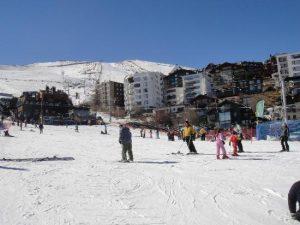 Pistas de Esqui em La Parva