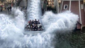 Tsunami em Fantasilandia Santiago