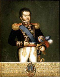 General Bernardo O´Higgins por José Gil de Castro