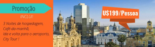 Promoção Hotel Majestic Santiago