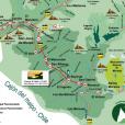PDF Map of Cajón del Maipo