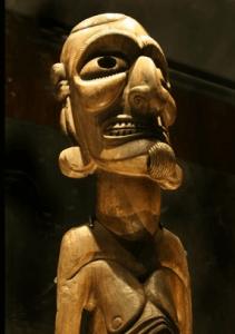 Moai Museu de Arte Precolombiano de Santiago