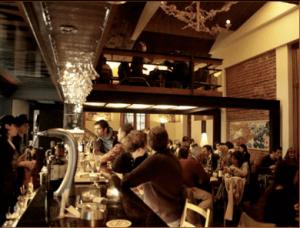 O Bar Berri em Santiago