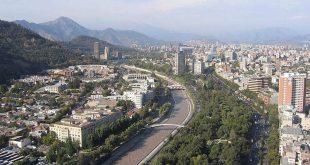 O Rio Mapocho Santiago Chile