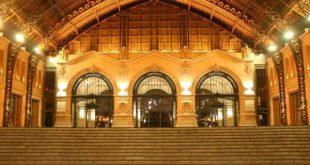 O belo Centro Cultural Estación Mapocho