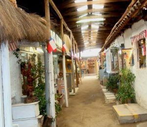 O charmoso Centro Artesanal Los dominicos