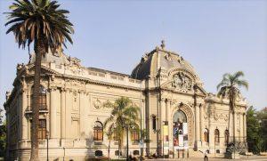 O conceituado Museu Nacional de Bellas Artes Santiago