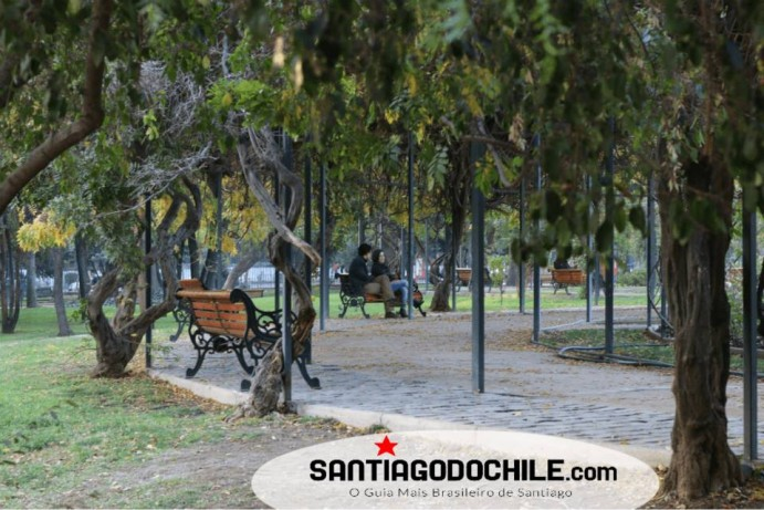Parque Araucano Santiago do Chile