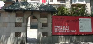 A Entrada do Museu de La Solidaridad Salvador Allende