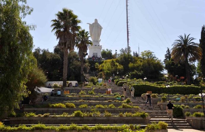 Santiago - O Cerro San Cristobal