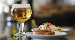 Tapas espanholas e Cerveja gelada em Santiago do Chile