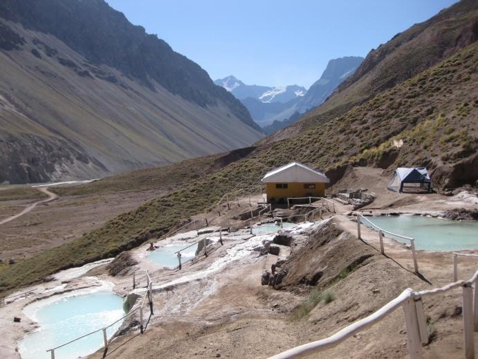 Baño Termal | Termas Colina Banho Termal Em Plena Cordilheira Dos Andes