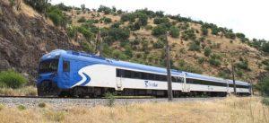 Trem desde Santiago a Chillán