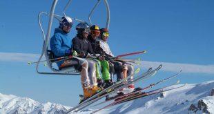 Um Ski Day em Valle Nevado