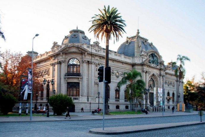 Visite o Meuseu de Bellas Artes de Santiago