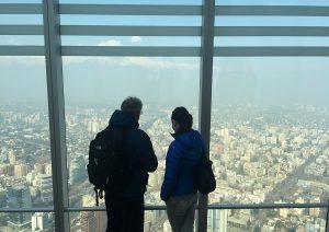 Vista desde o Sky Costanera