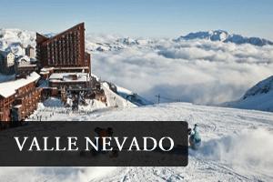 centro de esqui valle nevado chile
